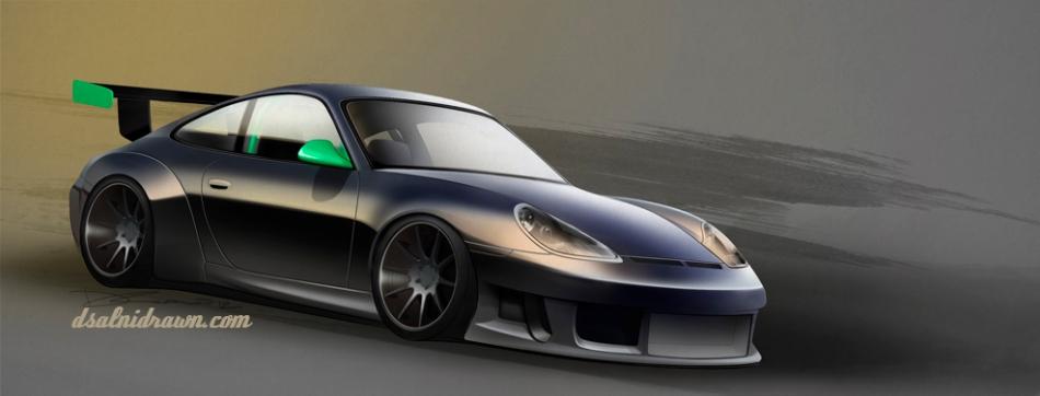 Custom 996 GT3-R build from Spain